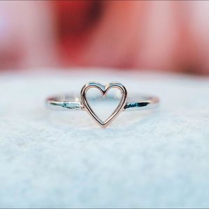 You + our Open Heart Ring = cutest couple *ever*❤️